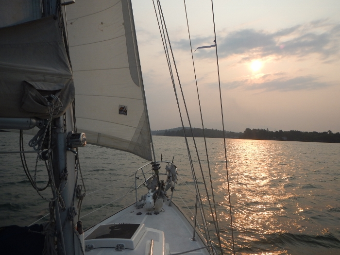 2017 Rio Dulce Tundra on her last sail before sold